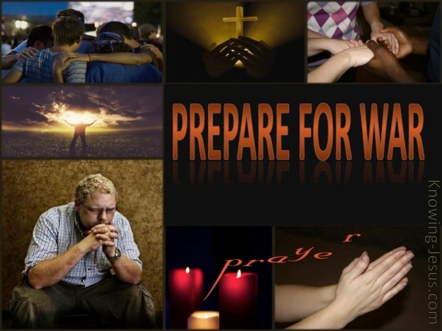 Prepare For War (devotional) (brown)