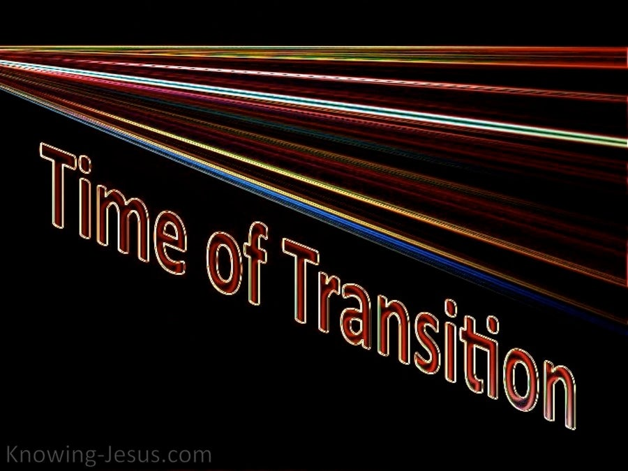 Time of Transition (devotional) (black)