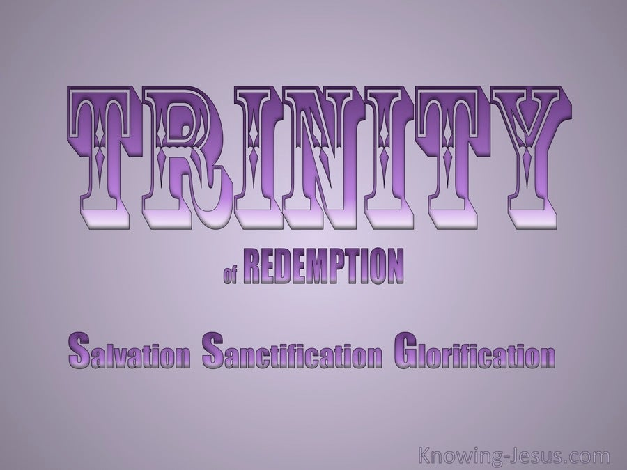 Trinity Of Redemption (purple)