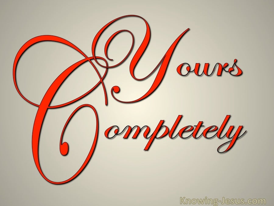 Yours Completely (devotional) (red)