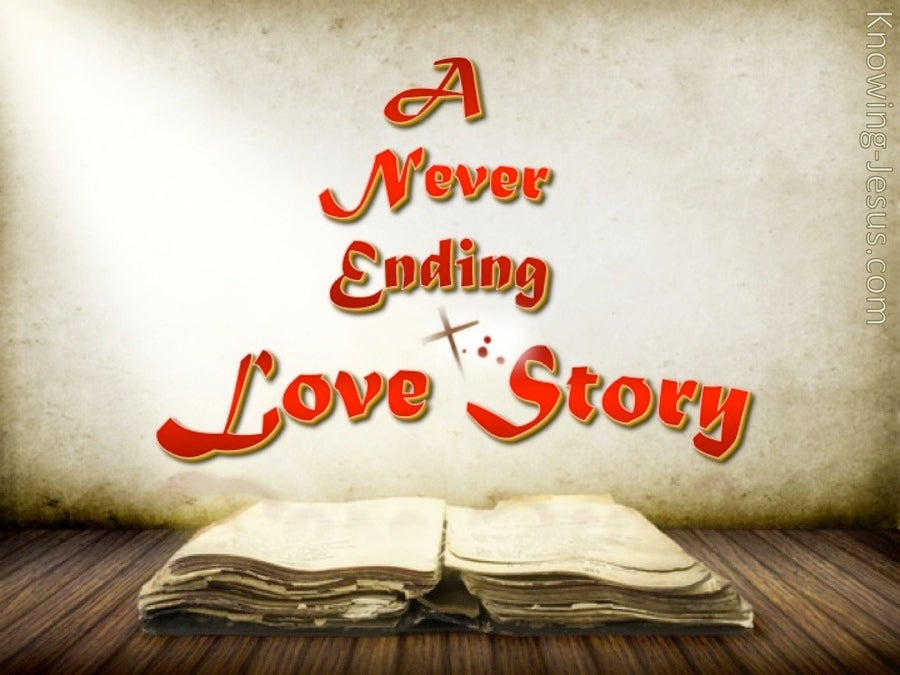A Never Ending Love Story (devotional) (red)