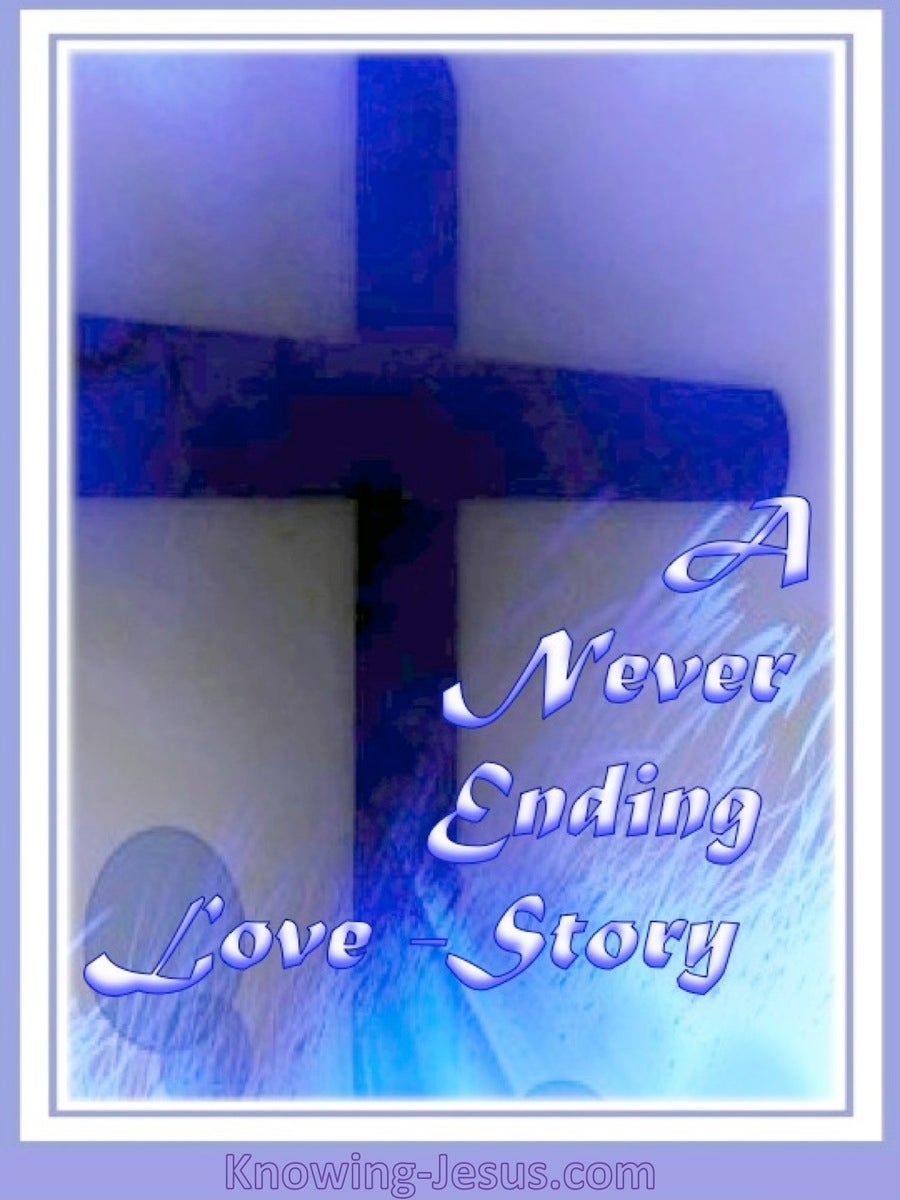A Never Ending Love Story (devotional) (purple)