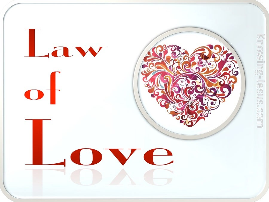 The Law of Love (devotional) (red)
