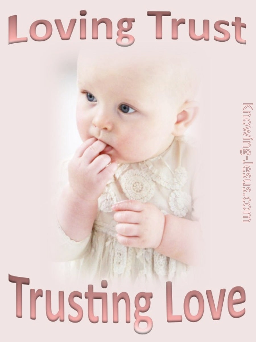 Loving Trust And Trusting Love (devotional) (pink)