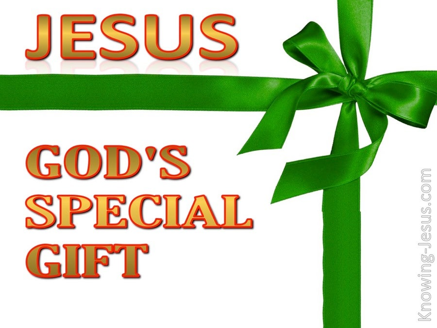 God's Special Gift (devotional) (green)