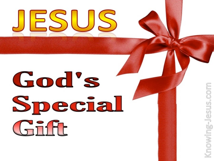 God's Special Gift (devotional) (red)