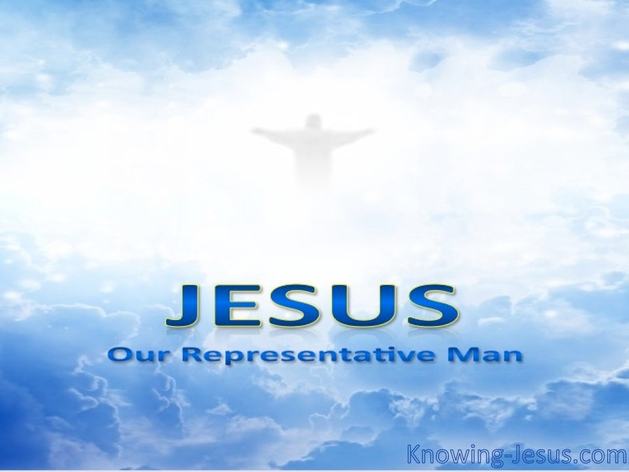 Our Representative Man (devotional) (blue)