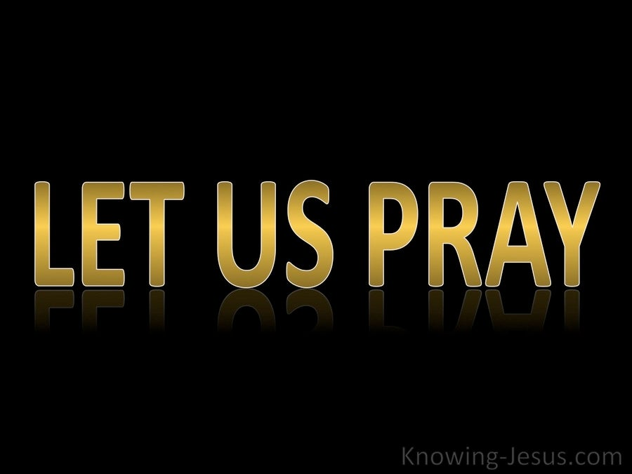 Let Us Pray (devotional)