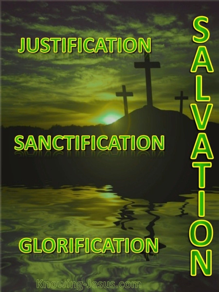 The Three Elements of Salvation (devotional) (green)