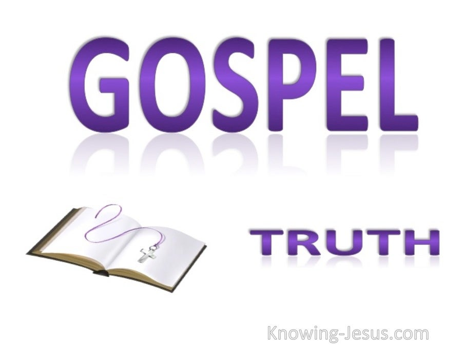 Gospel Truth (purple)