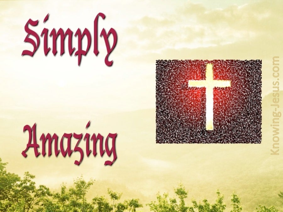 Simply Amazing (devotional) (red)