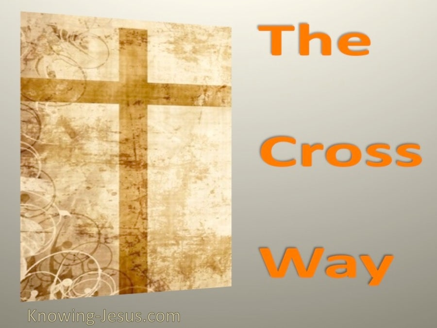 SALVATION - The Cross Way (orange)