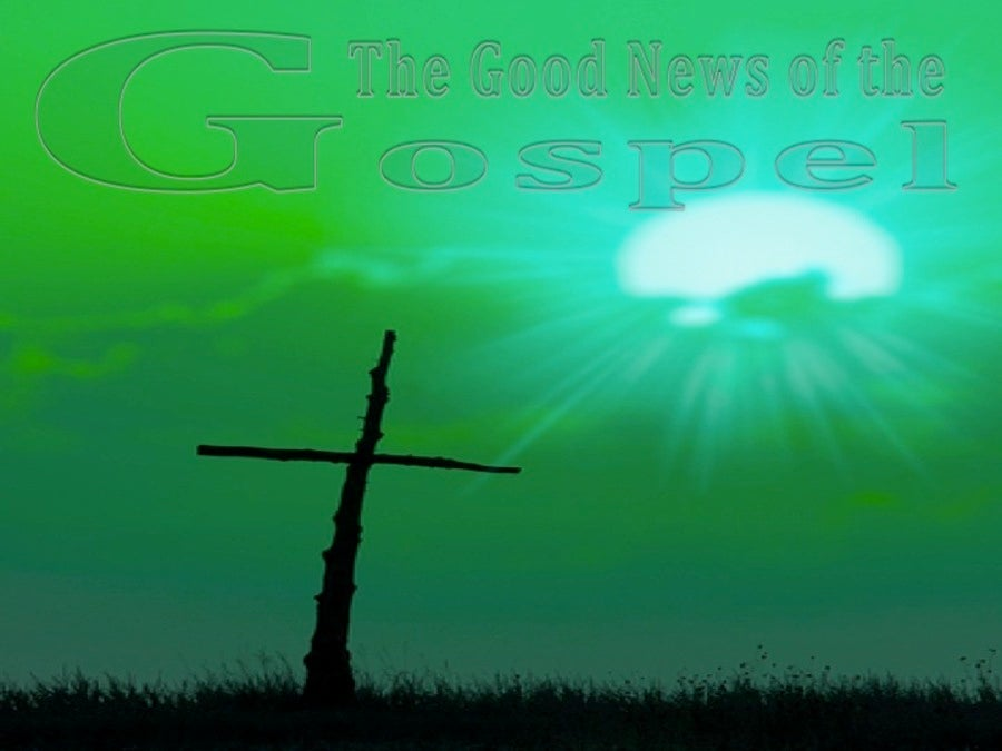 The Good News of the Gospel (devotional) (green)