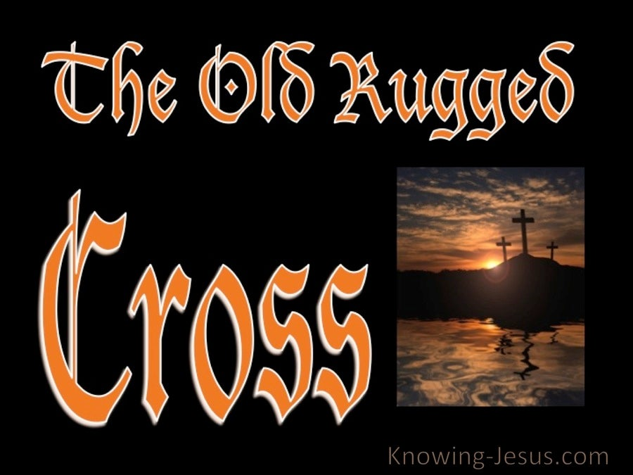 SALVATION - The Old Rugged Cross (orange)
