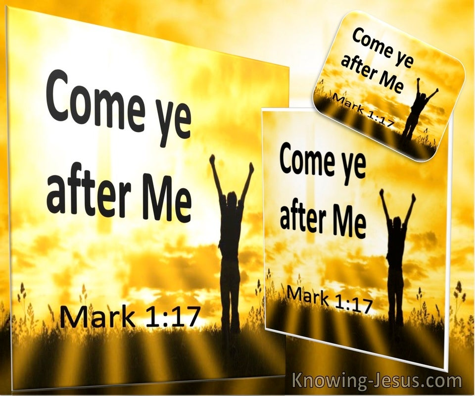Mark 1:17 Come Ye After Me (utmost)06:13