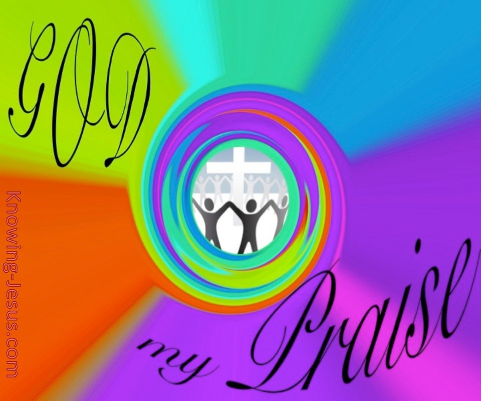 God, My Praise (devotional)03-04 (purple)