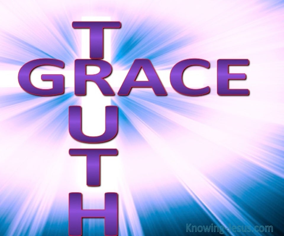 GRACE And Truth (purple)