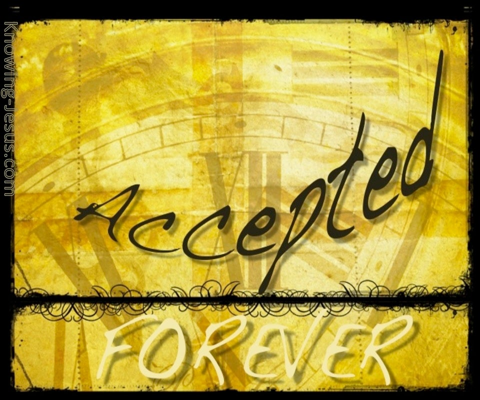 Forever Accepted (devotional)03-26 (yellow)