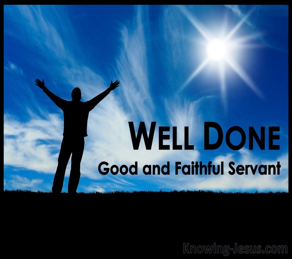 Matthew 25:21 A Faithful Servant (devotional)05-06 (blue)