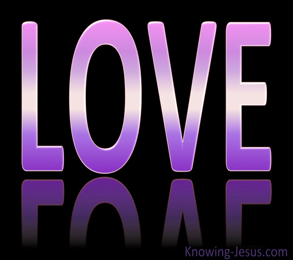 LOVE (purple)